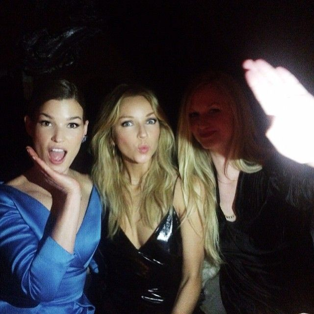 Three that's the Magic Number✌️#pfw #delasoul #costumenorge #HegeABadendyck @hannelim @monicadoreen