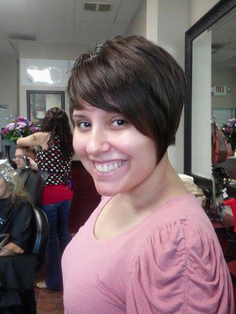 Short hair | Vivid color on long and short hair | Pinterest