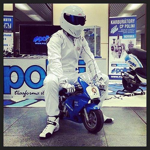 #polini #polinimotorispa #minibike #thestig #stig #minibikepolini #topgear #tuning #scooter #scootertuning #poliniitaliancup2014 #white #blue #change #nuovasfida #newchallenge #moto #motorbike