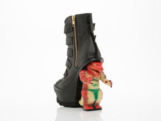 Irregular Choice's $250 Roarsum boots