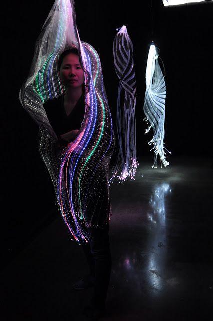Flexible Fashion: Sculptural Knit Fabric: HyunJin Yun _ Korean knitwear designer