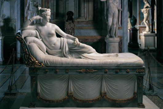 Capitoline Museums, Paolina Borghese by Canova