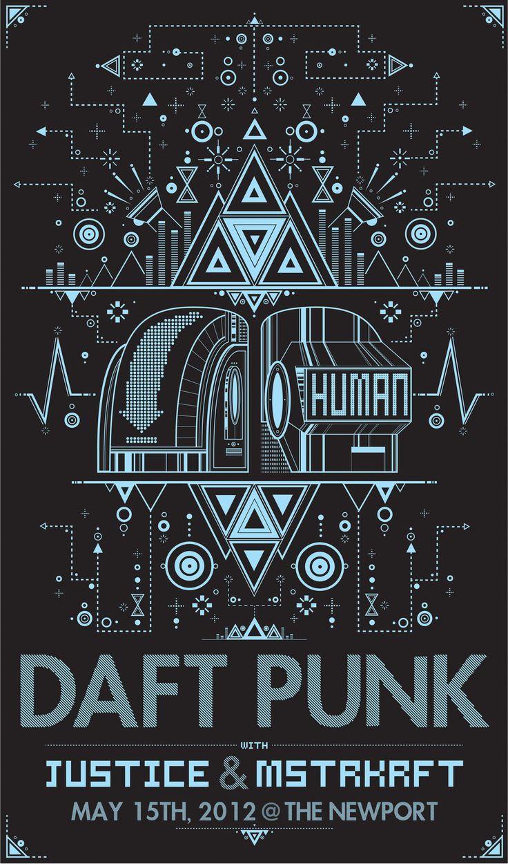 Daft Punk + Justice + MSTRKRFT - 2012 ----