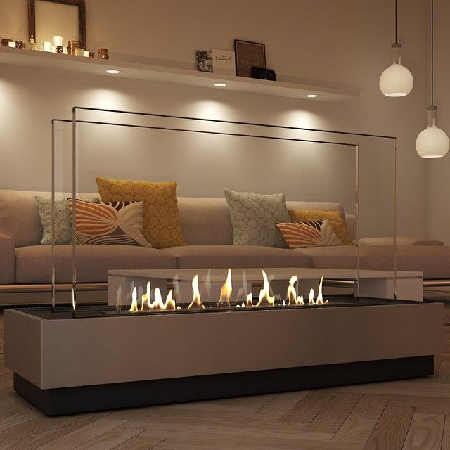 #bioethanol #fireplace complements any #interior!