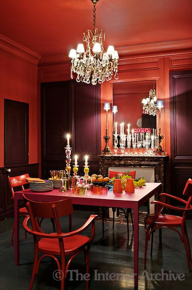 1000 Images About Red Dining Room On Pinterest Parks Mondays And