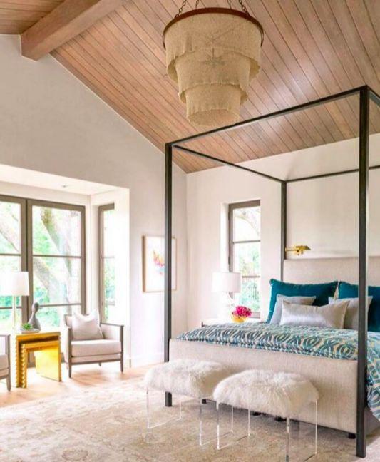 Custom Made Bed By Robert James Collection Interior Designer Morgan Farrow Interiors