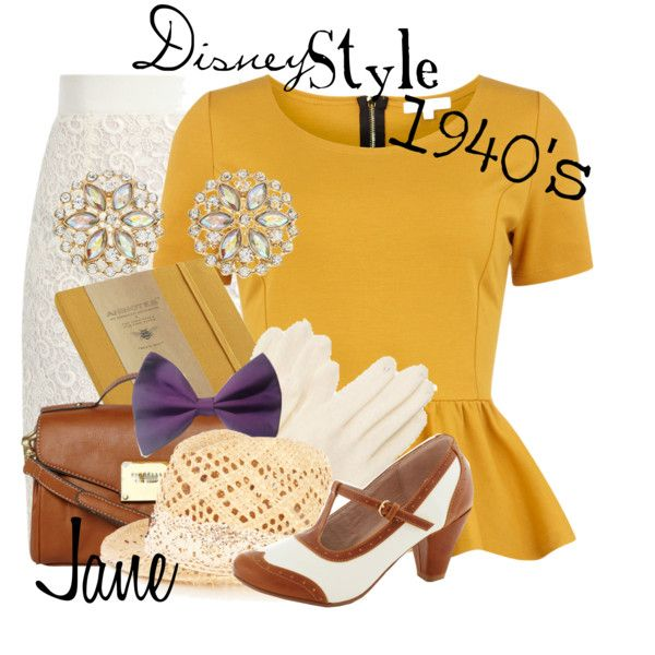 """Disney Style : Jane"" by missm26 on Polyvore"