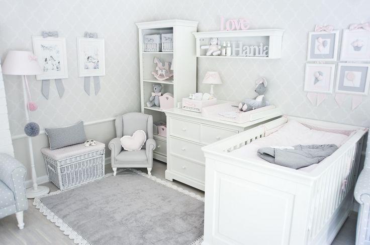 Dywan szary z kroszetką - idealny do pokoju Twojej małej księżniczki.
