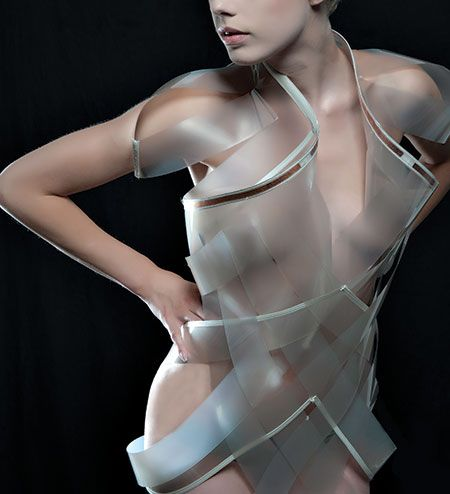 Coming Soon: Clothes That Disappear When You're Horny #tech #futurism #clothes