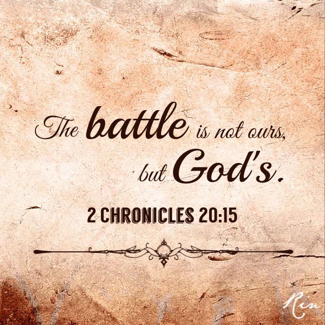 Prophecy aug. '15.  VICTORY. BATTLE IS OVER.