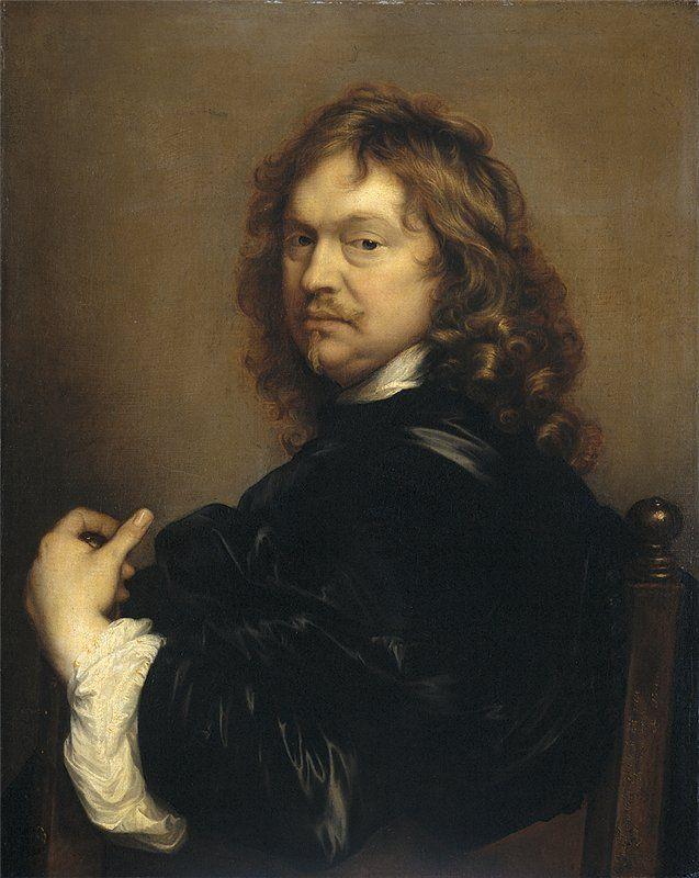 Adriaen Hanneman Zelfportret van de kunstenaar. 1656 г.