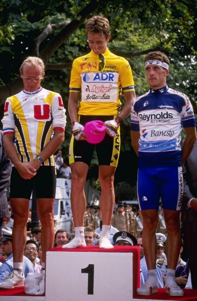 Fignon, LeMond & Delgado
