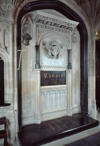 Tomb of Edward IV -  he was King of England from 4 March 1461 until 3 October 1470, and again from 11 April 1471 until his death in 1483. He was the first Yorkist King.