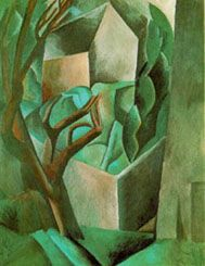 Cubism  Houses with Trees 1907
