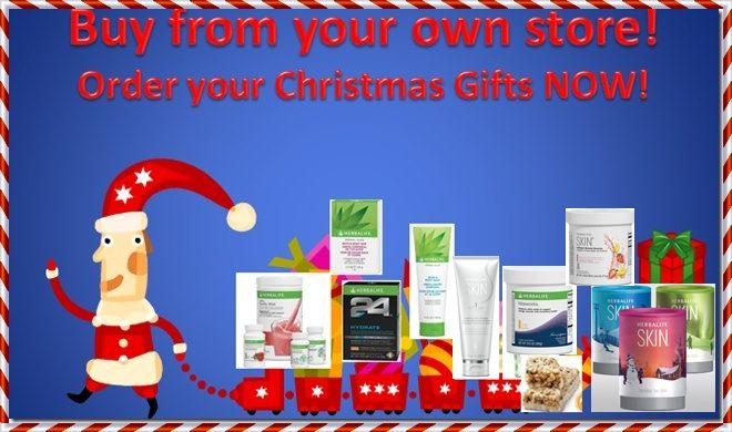 Want to buy all YOUR GIFTS in YOUR OWN ONLINE WEBSHOP? Sign up as a Herbalife MEMBER now and get an immediate 25%Member Discount on all Herbalife Products! This Christmas give the gift of HEALTH, …