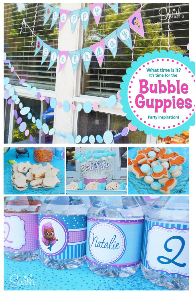 17 best images about bubble guppies party ideas on pinterest starfish mermaids and bubble guppies - Bubble guppie birthday ideas ...