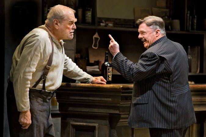 Review: 'The Iceman Cometh' Revived, With Nathan Lane and Brian Dennehy - The New York Times