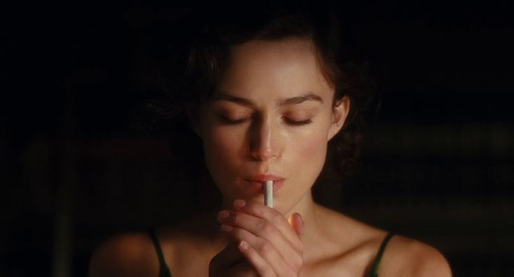 The cheek bones bring a lot to the table when it comes to lighting. Film - Atonement