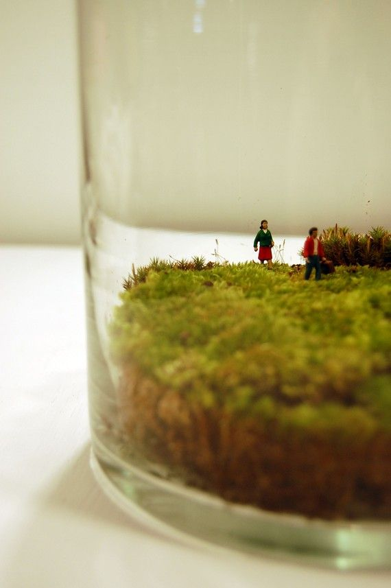 its a little bitty world with little bitty people! :) LOVE!!!!