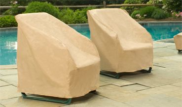 Our Patio Chairs Covers Fit A Variety Of Outdoor Chairs. Comes In Nutmeg,  Hunter
