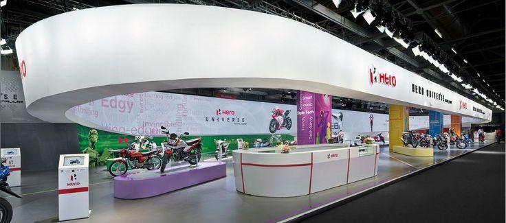 Hero Motocorp - Auto EXPO Motorshow Indien 2014 | Schmidhuber