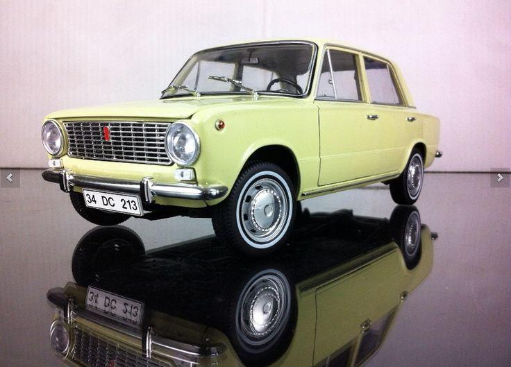1971 Murat 124 taksi