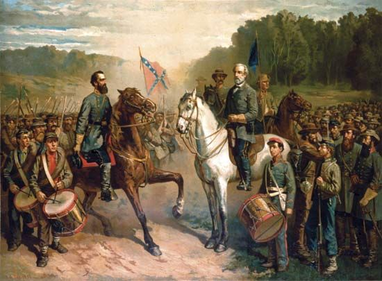 Lee and Jackson at Chancellorsville | The Battle of ...