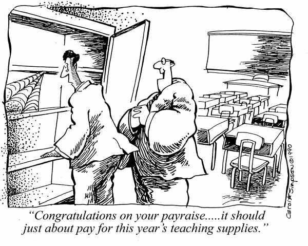 Ha! Teacher humor