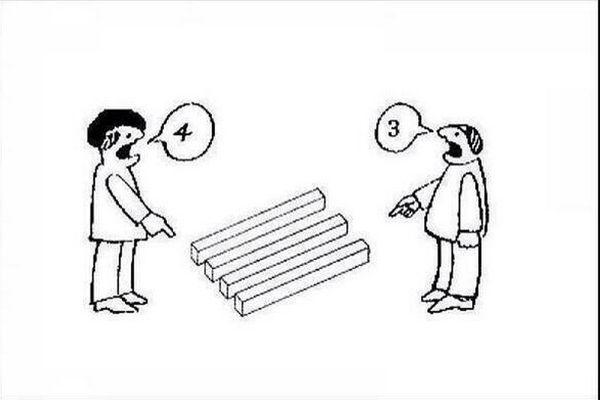 ¿Cuántas barras ves en la #imagen? Muy pocos aciertan #acertijos #acertijo #juegos #preguntas