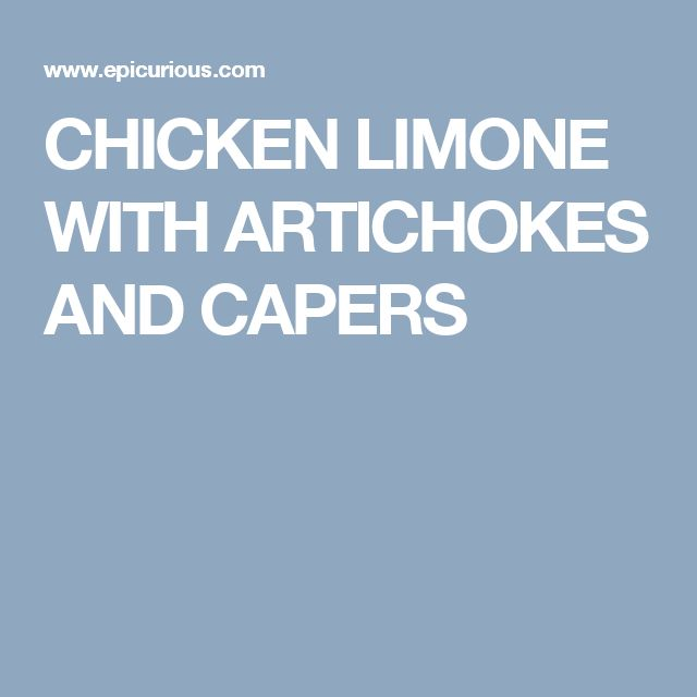 Best 25+ Chicken limone ideas on Pinterest | Ina garten ...