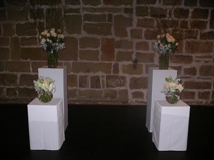 #freshflowers #pedestals