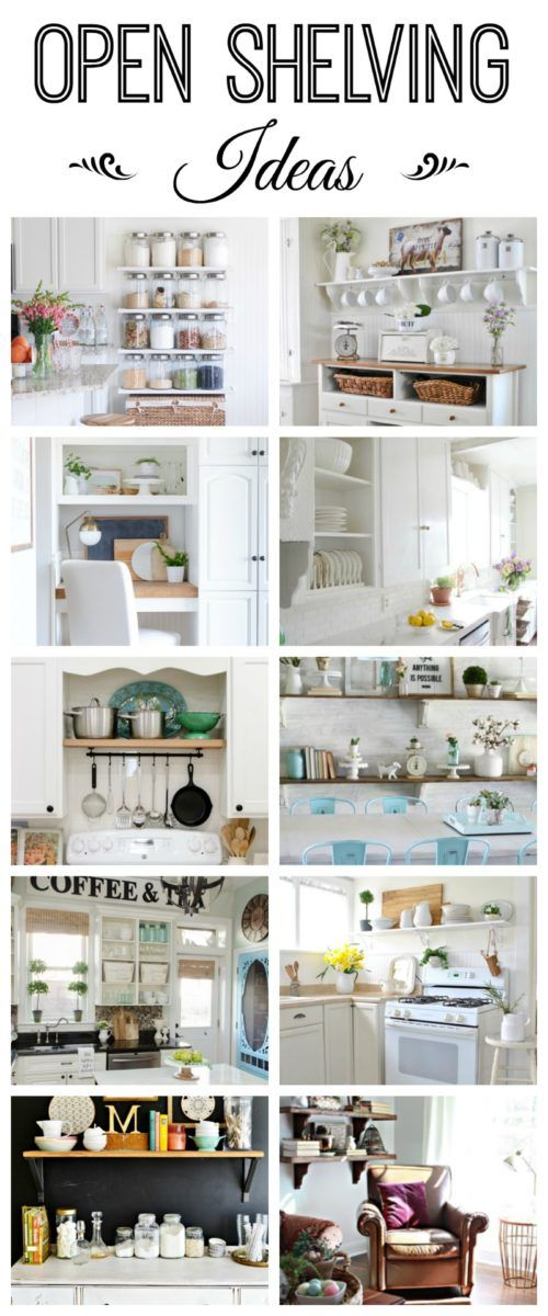 open shelving ideas how to style