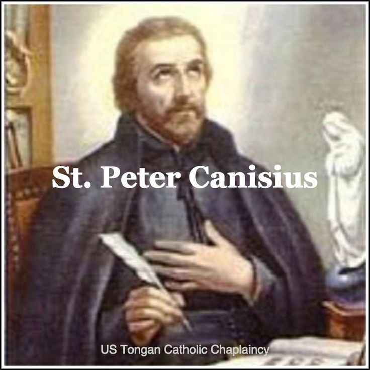 a biography of st peter canisius The dutch jesuit st peter canisius (1521-1597) was a leading figure of the counter reformation a deeply prayerful man and indefatigable worker, he reanimated the catholic church in central europe by preaching, writing, and founding jesuit colleges.