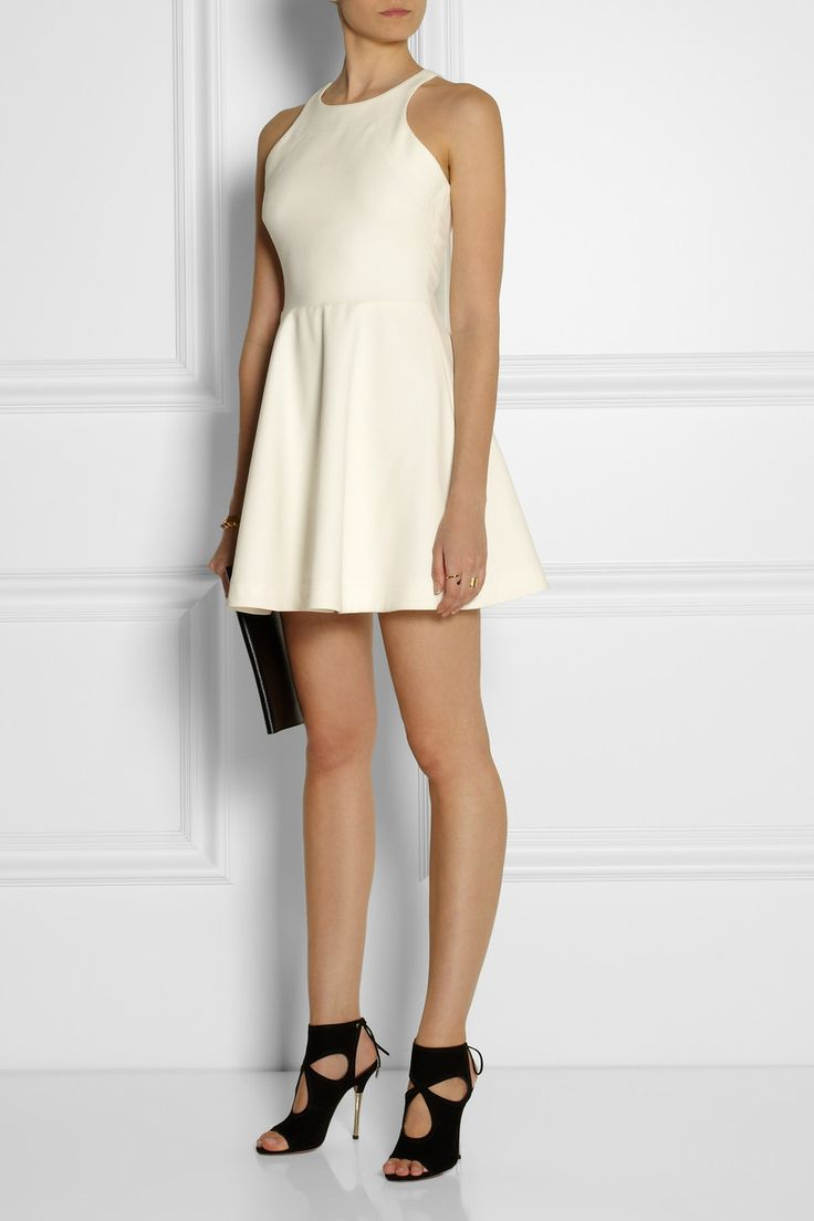Elizabeth and James | Magdalena stretch-ponte mini dress | NET-A-PORTER.COM