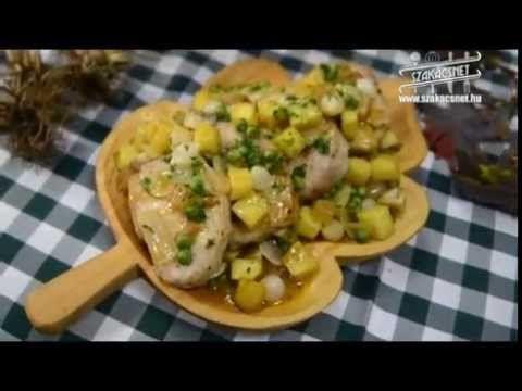 Laci bácsi konyhája Sertésszelet jóasszony módra www.szakacsnet.hu