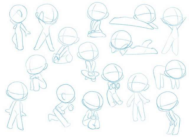 Wanna Start Drawing Chibis Are A Very Good Start Chibi Drawings Chibi Sketch Cartoon Drawings