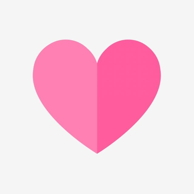Flat Pink Heart Pink Heart Clipart Heart Icons Pinkicons Png Transparent Clipart Image And Psd File For Free Download Cartoon Heart Pink Heart Background Heart Icons
