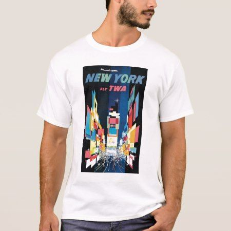 TWA - New York T-Shirt - tap, personalize, buy right now!