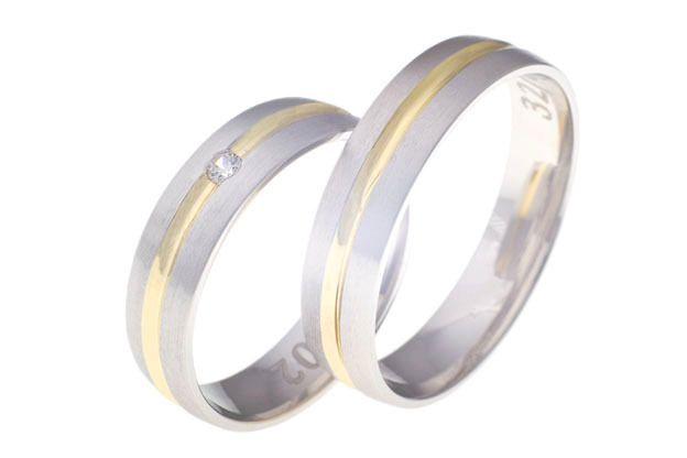 Snubní prsteny - model č. 32/02