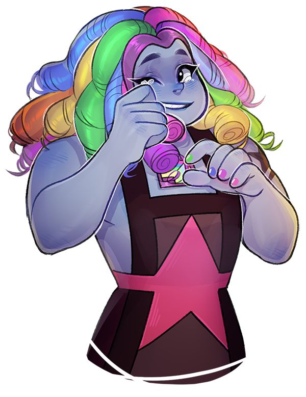 Steven Universe Fan Art! — could you draw a cute happy bismuth? But only if...