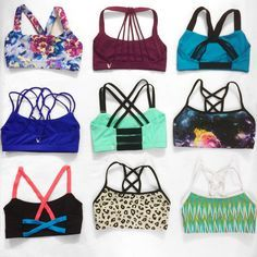 Cute strappy sports bras | cheer sports bras | active wear for yoga | website for workout clothes
