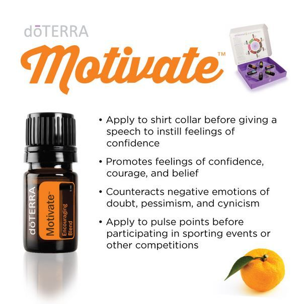 dōTERRA Motivate Encouraging Blend Essential Oil Spotlight - Healthy Oils Global