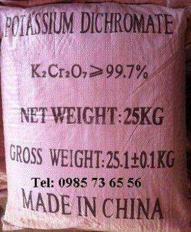 bĂ¡n Potassium dichromate, bĂ¡n Kali dicromat, bĂ¡n K2Cr2O7