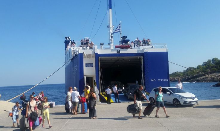 Greek Ports Busy as August Exodus from Athens Kicks Off.