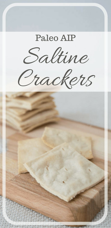 Paleo saltine crackers recipe