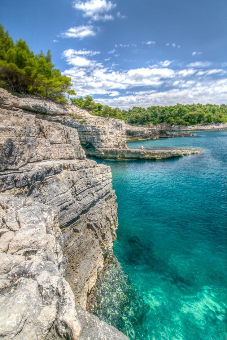 Croatia / Pula - autocamp Stoja, hidden beauties with crystal clear sea and caves.