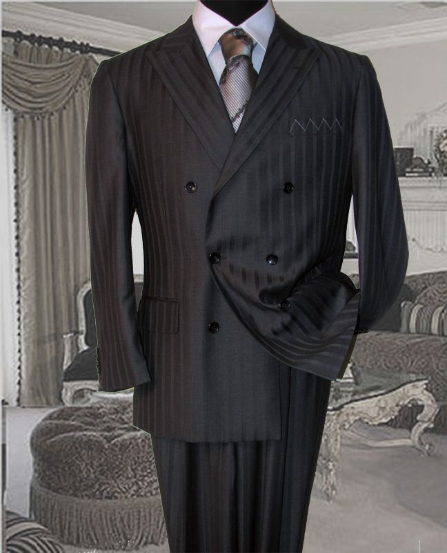 Statement Italian Wool Double Breasted Suits