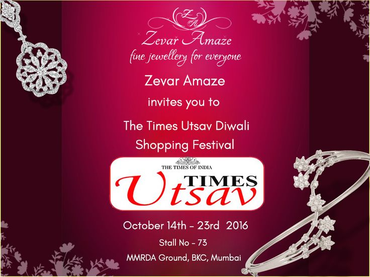 13 best times utsav images on pinterest shopping diamonds and announcing our very first official event zevar amaze is going to be at the times stopboris Choice Image