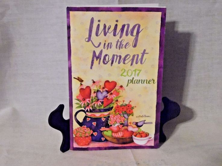 2017 Living in the Moment- Pocket Calendar & Planner- New - United Spinal Assoc.