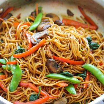 Easy Lo Mein Recipe - Damn Delicious & ZipList